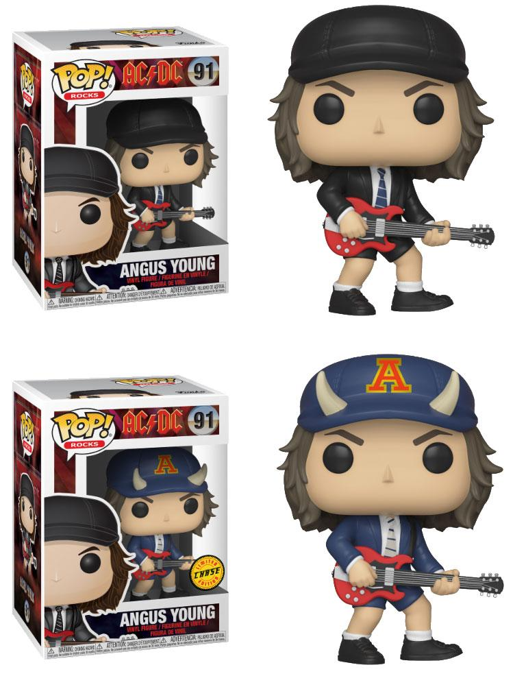 AC/DC POP! Rocks Vinyl Figures Angus Young 9 cm Assortment (6)