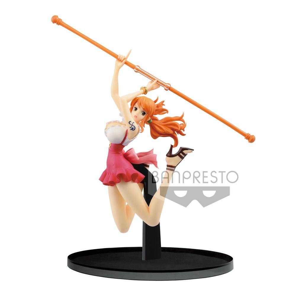 One Piece BWFC PVC Statue Nami Normal Color Ver. 13 cm