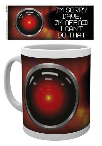 2001: A Space Odyssey Mug Sorry Dave