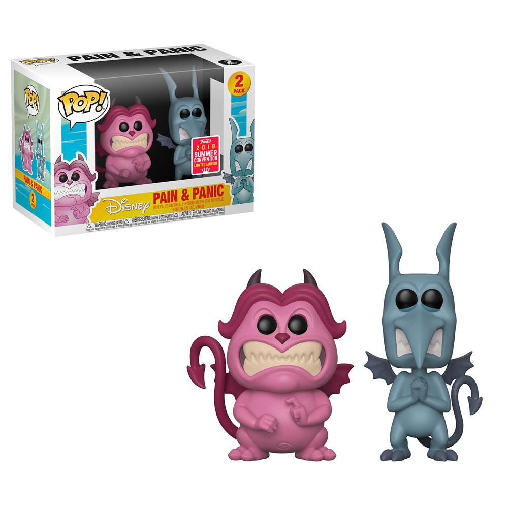 Hercules POP! Disney Vinyl Figures 2-Pack Pain & Panic 9 cm