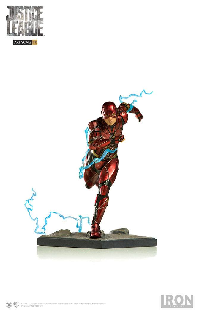 Justice League Art Scale Statue 1/10 Flash 16 cm