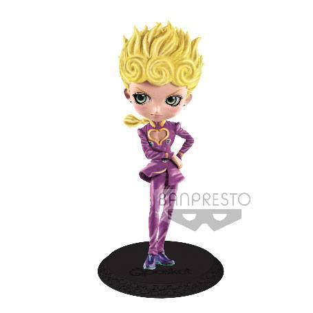 JoJo's Bizarre Adventure Golden Wind Q Posket Mini Figure Giorno Giovanna Ver. B 14 cm