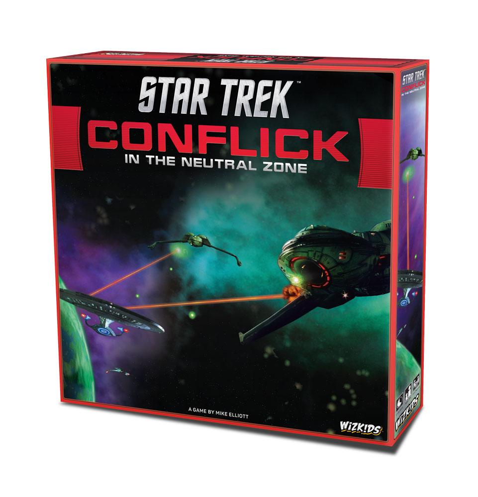 Star Trek Board Game Conflick in the Neutral Zone *English Version*