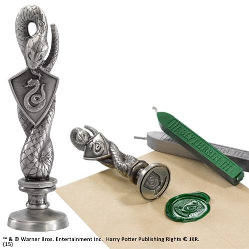 Harry Potter Wax Stamp Slytherin 10 cm