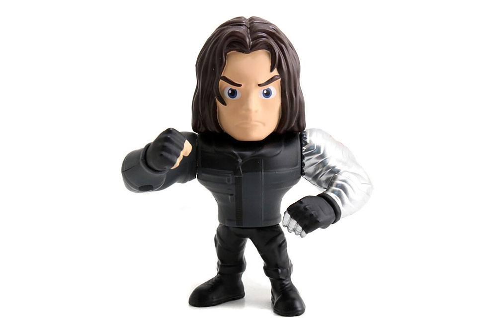 Marvel Metals Diecast Mini Figure Winter Soldier 10 cm