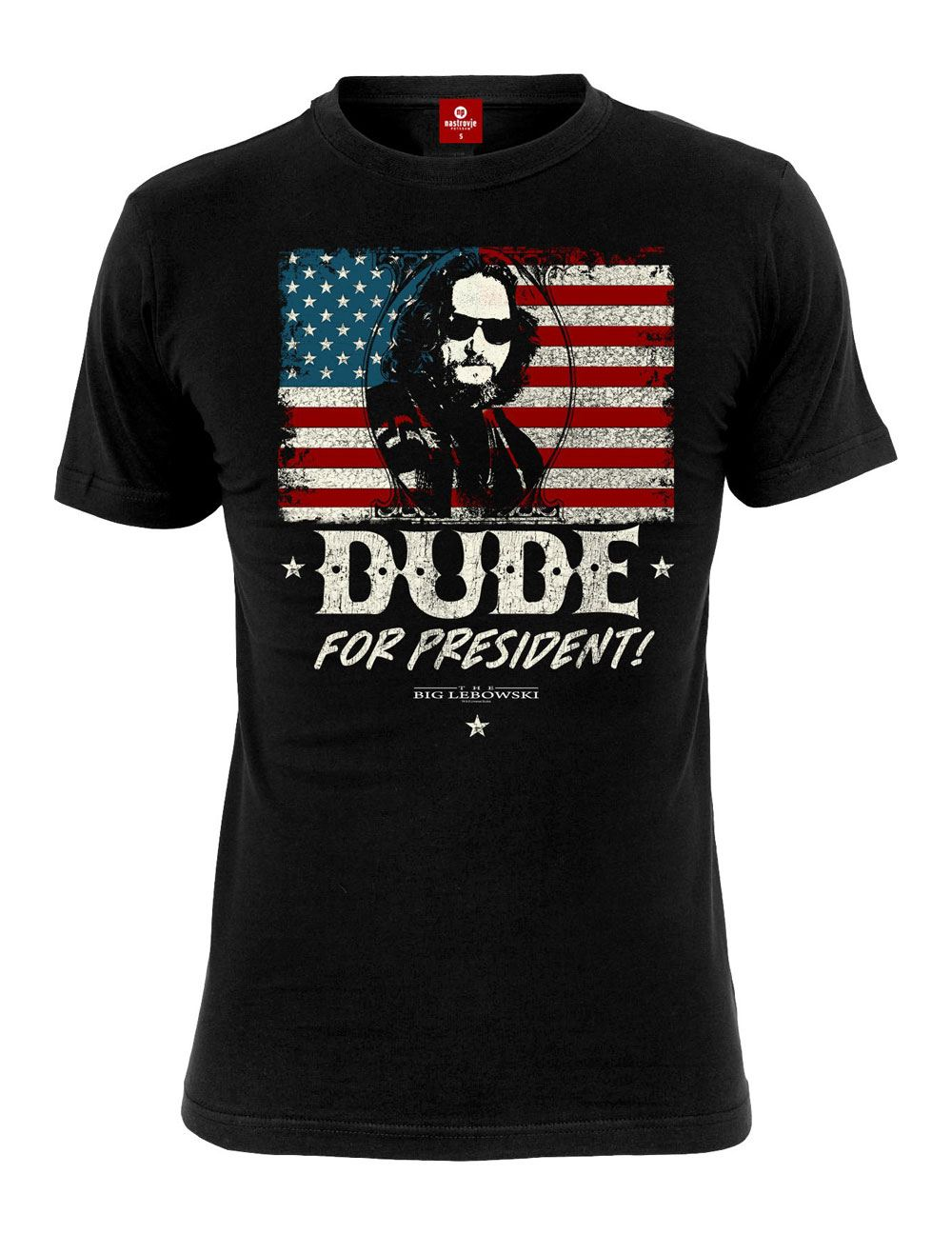The Big Lebowski T-Shirt Dude for President Size M