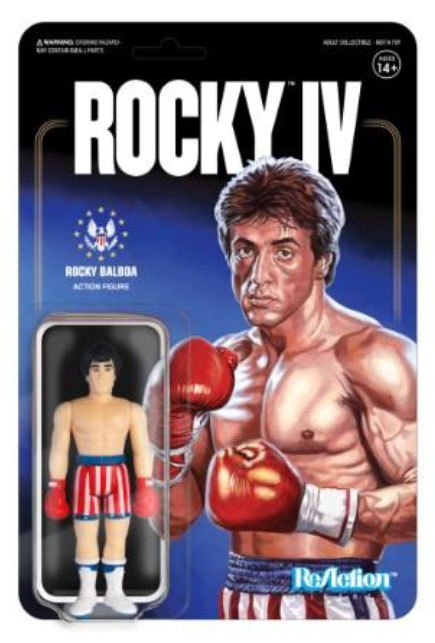 Rocky 4 ReAction Action Figure Rocky 10 cm