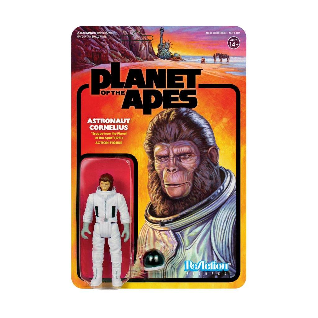 Planet of the Apes ReAction Action Figure Cornelius Astronaut 10 cm
