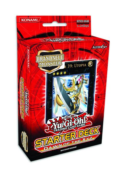 Yu-Gi-Oh! Starter Deck Dawn of the Xyz Display (10) german --- DAMAGED PACKAGING