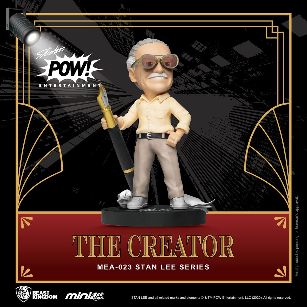 Stan Lee Mini Egg Attack Action Figure Stan Lee The Creator 8 cm