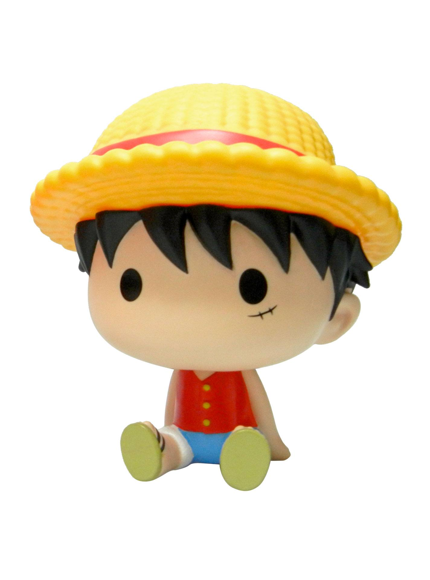 One Piece Chibi Bust Bank Luffy 15 cm