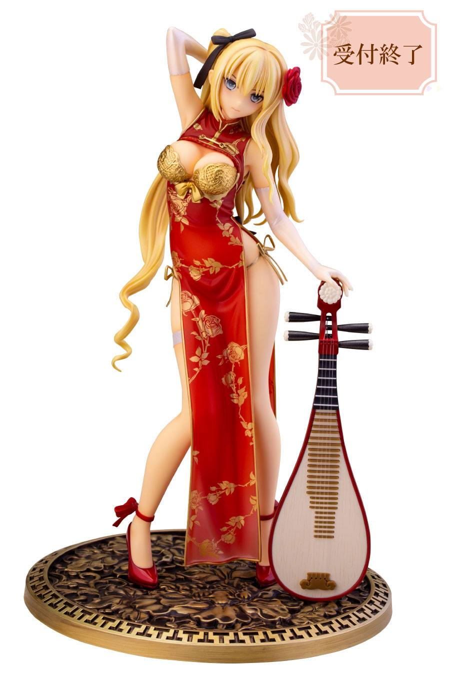 T2 Art Girls STP PVC Statue 1/6 Jin-Lian Red Ver. 27 cm