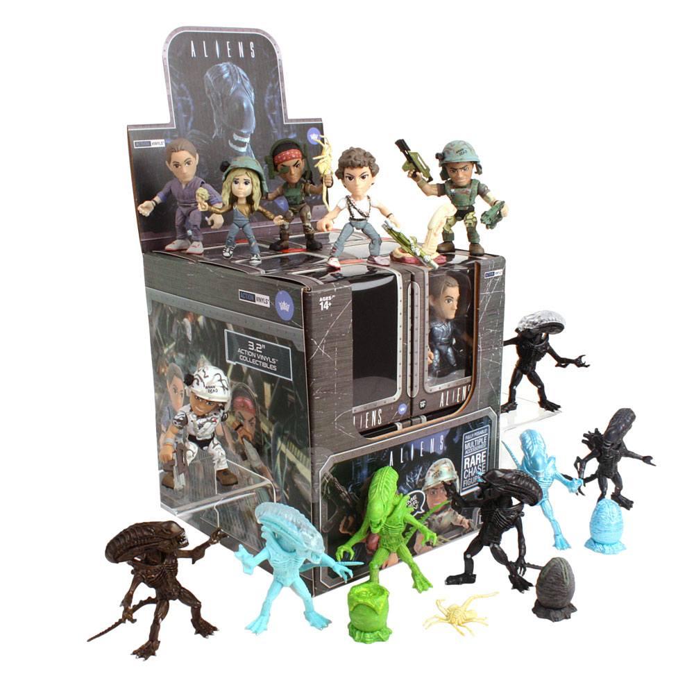 Aliens Action Vinyls Mini Figures 8 cm Wave 1 Display (12)