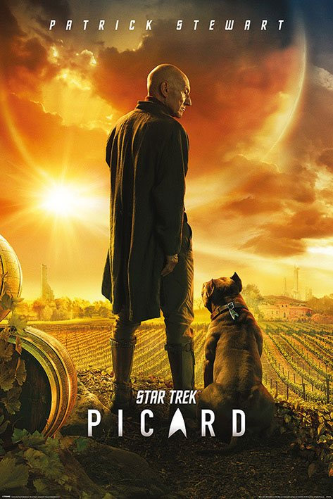 Star Trek: Picard Poster Pack Picard Number One 61 x 91 cm (5)