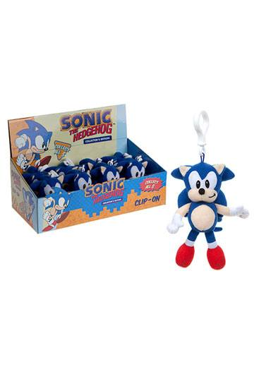 Sonic the Hedgehog Plushie Bag Clip Display (12)