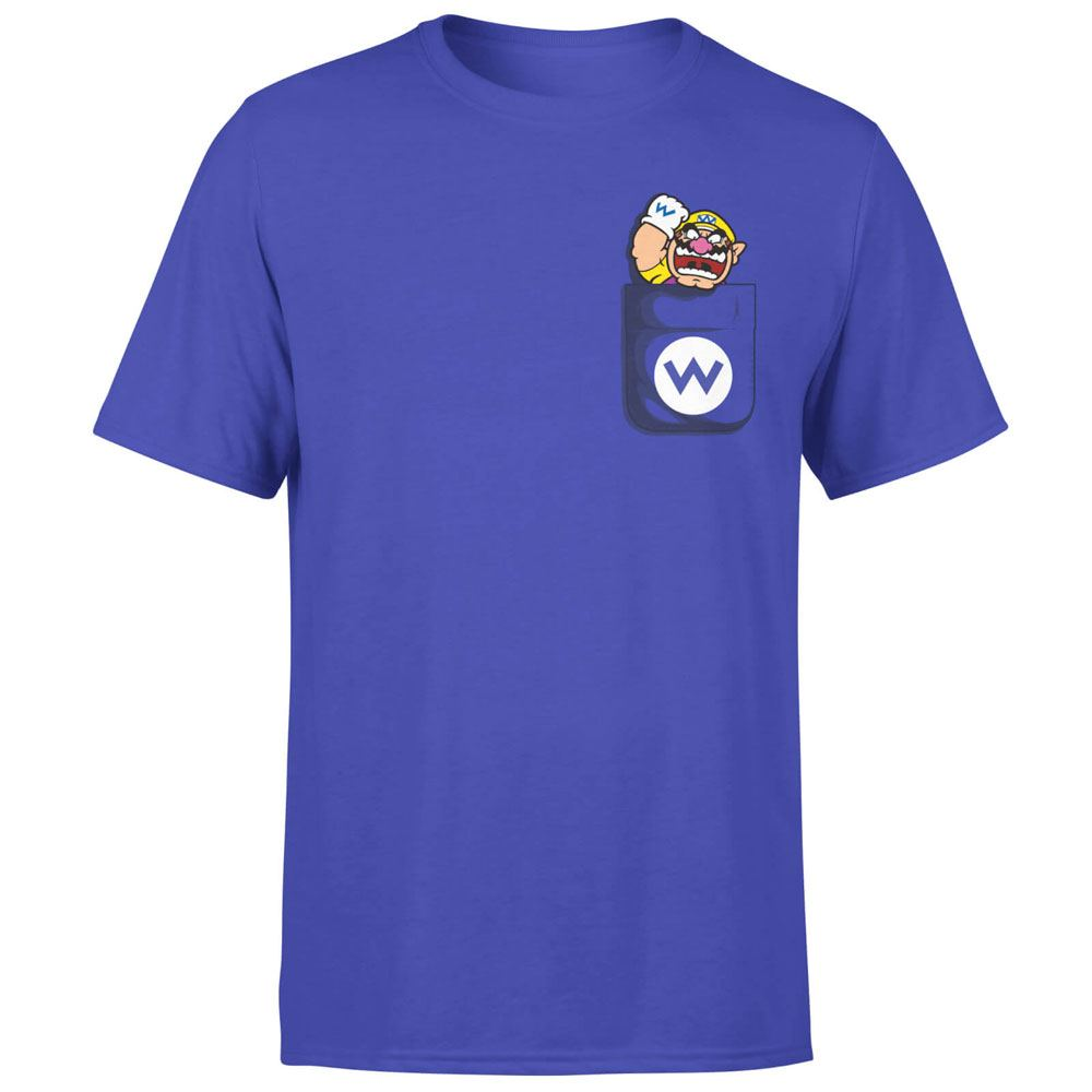 Nintendo T-Shirt Wario Pocket Size XL