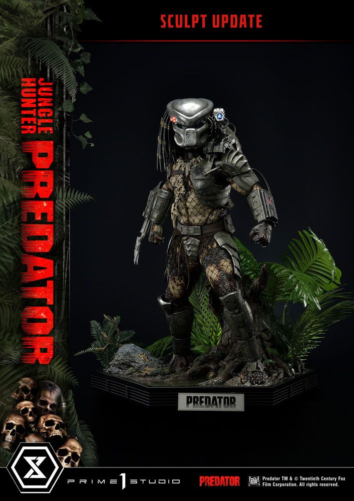 Predator Museum Masterline Statue 1/3 Jungle Hunter Predator 90 cm