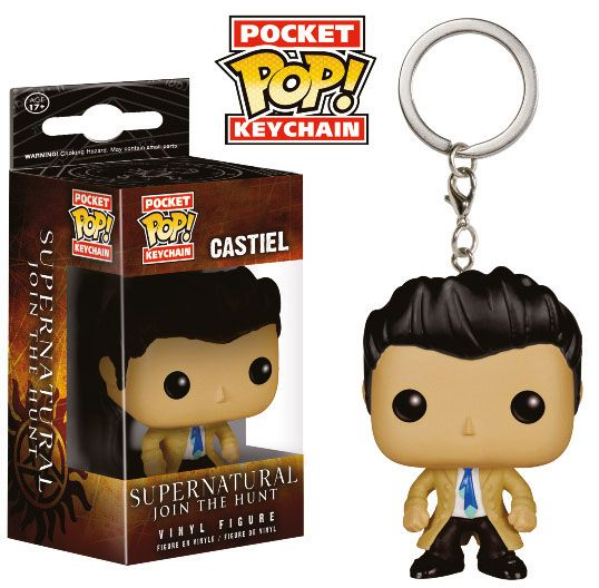 Supernatural Pocket POP! Vinyl Keychain Castiel 4 cm
