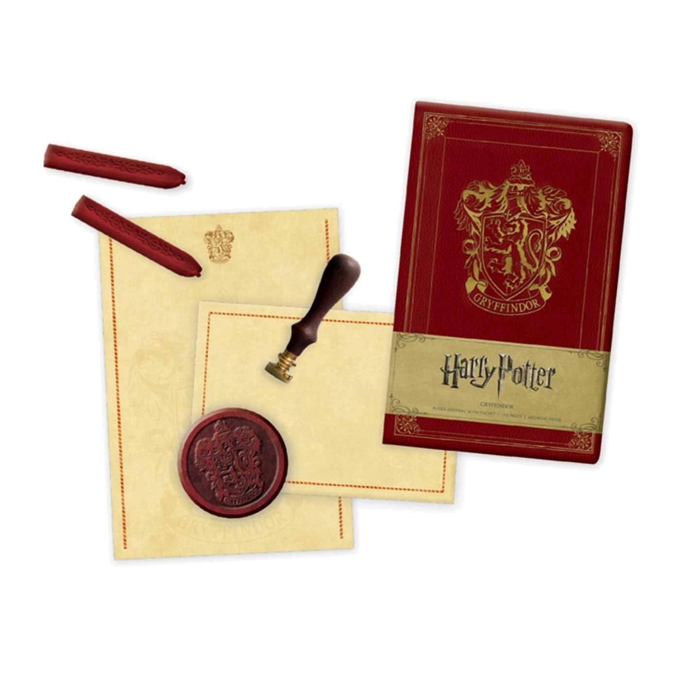 Harry Potter Deluxe Stationery Set Gryffindor