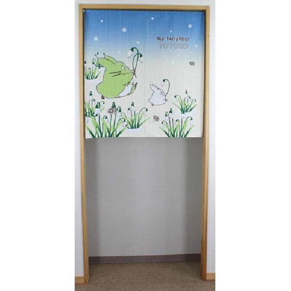 My Neighbor Totoro Japanese Doorway Curtain Totoro & Snow Drop