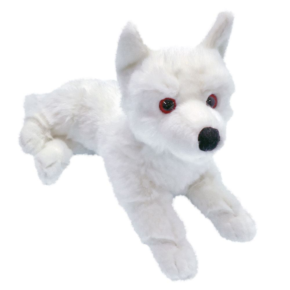 Game of Thrones Plush Figure Ghost Direwolf Prone Cub 38 cm