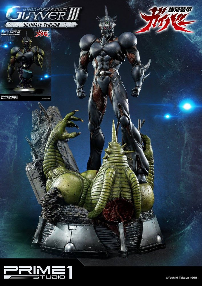 Guyver The Bioboosted Armor Statue & Bust Guyver III Ultimate Edition Set