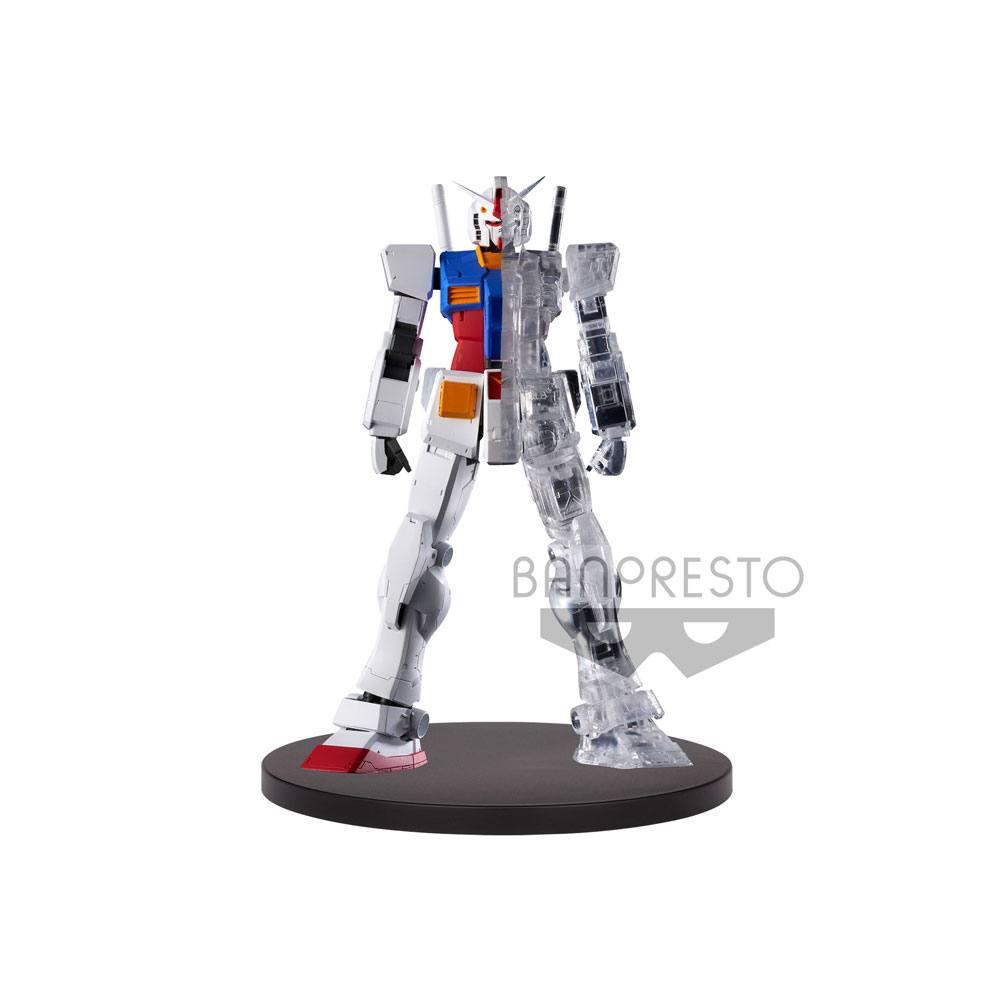 Mobile Suit Gundam Statue Internal Structure RX-78-2 Gundam Ver. A 14 cm