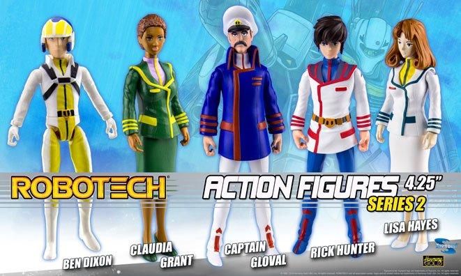 Robotech Action Figures 11 cm Assortment Series 2 (20)