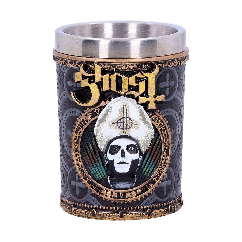 Ghost Shot Glass Gold Meliora