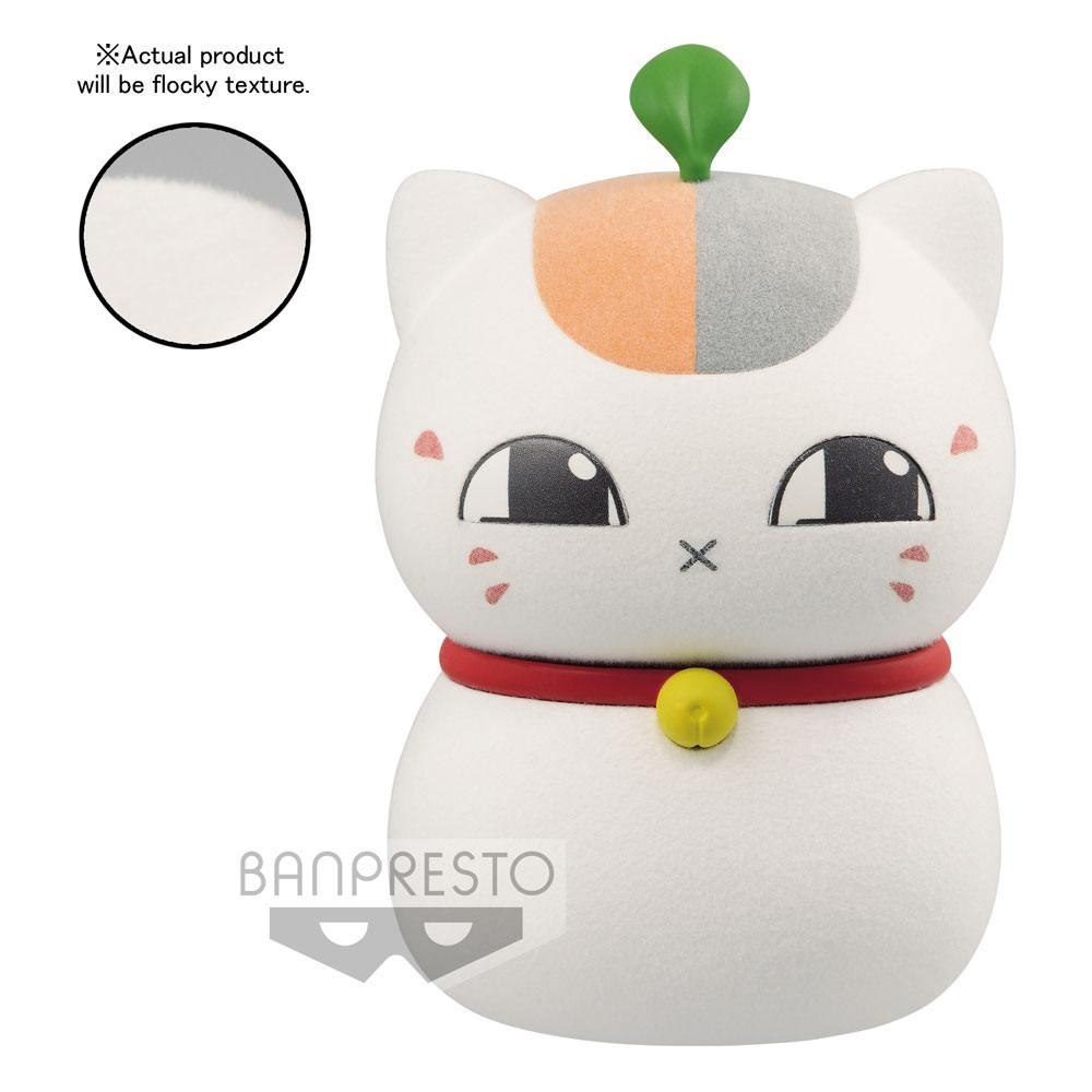 Natsume Yujin-cho Fluffy Puffy Mini Figure Triple Nyanko-Sensei 1 7 cm