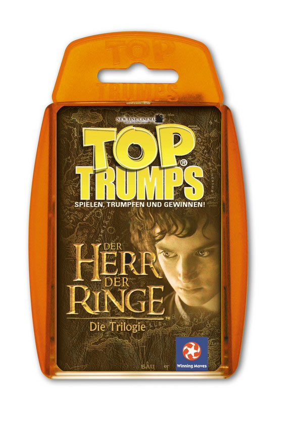 Lord of the Rings Trilogy Top Trumps *German Version*