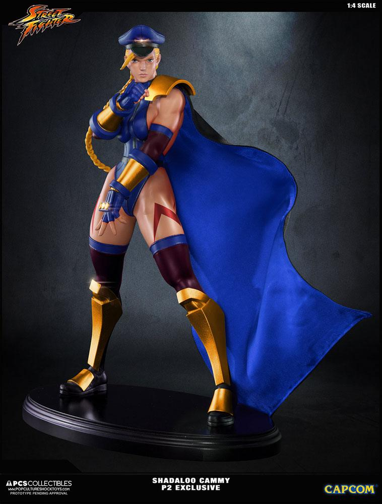 Street Fighter IV Statue 1/4 Shadaloo Cammy PCS Player 2 Exclusive 43 cm