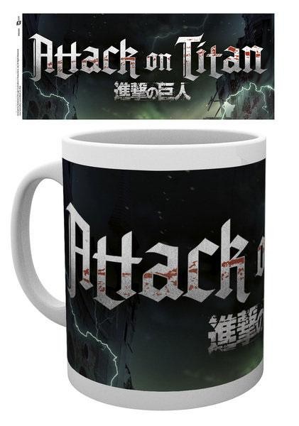 Attack on Titan Season 2 Mug Logo