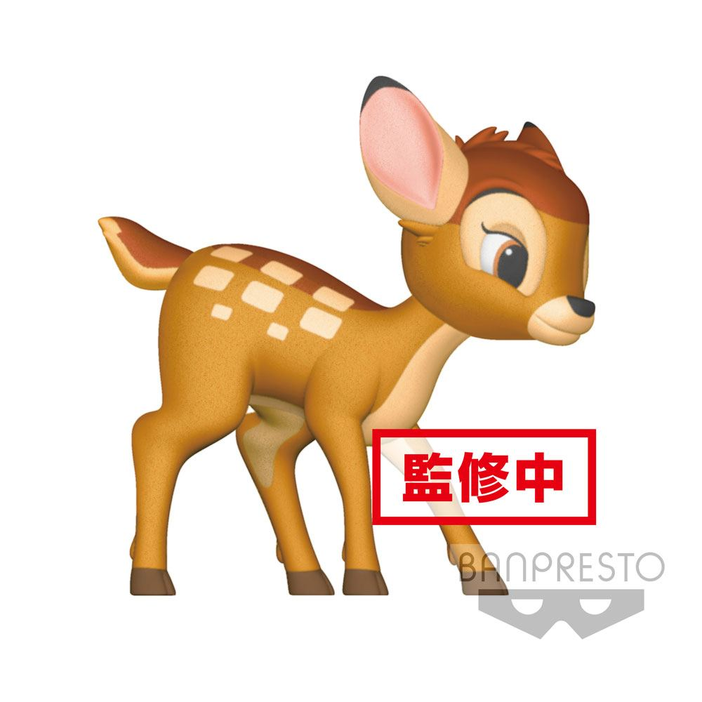 Disney Fluffy Puffy Mini Figure Bambi 8 cm