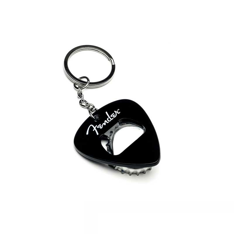 Fender Keychain with Bottle Opener Logo
