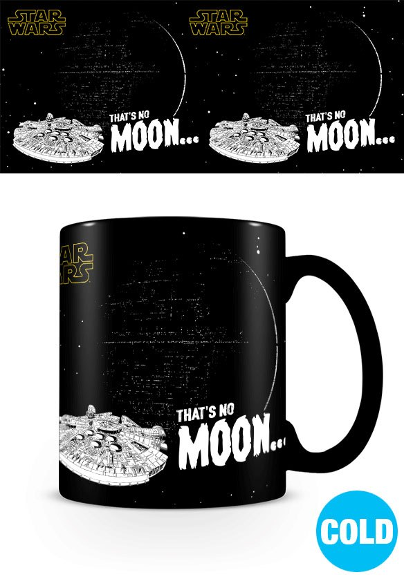 Star Wars Heat Change Mug That's No Moon