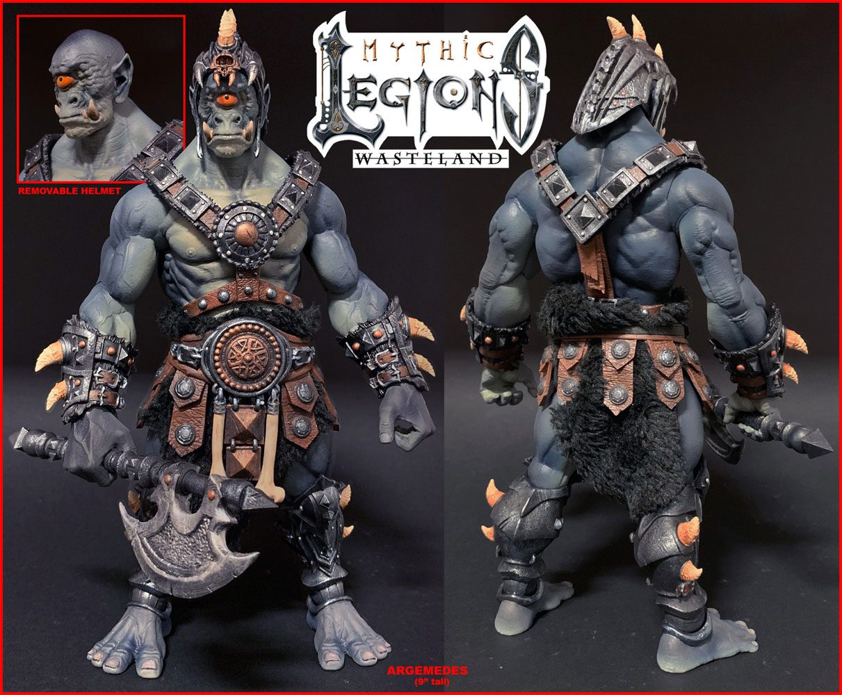 Mythic Legions: Wasteland Actionfigur Argemedes 23 cm