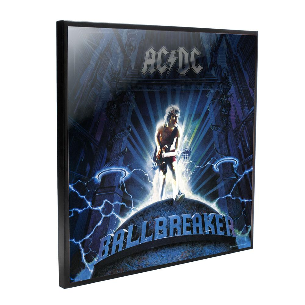 AC/DC Crystal Clear Picture Ball Breaker 32 x 32 cm