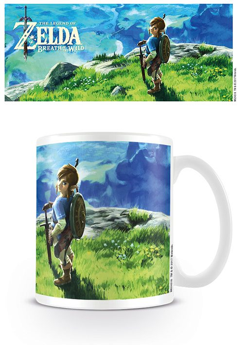 Legend of Zelda Breath of the Wild Mug View