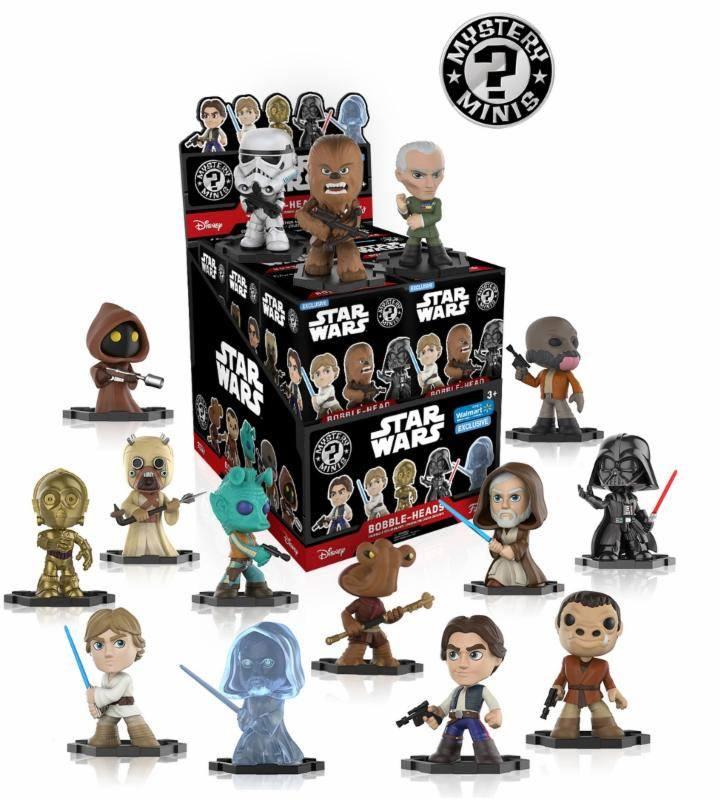 Star Wars Mystery Minis Vinyl Mini Figures 6 cm Display Exclusive (12)