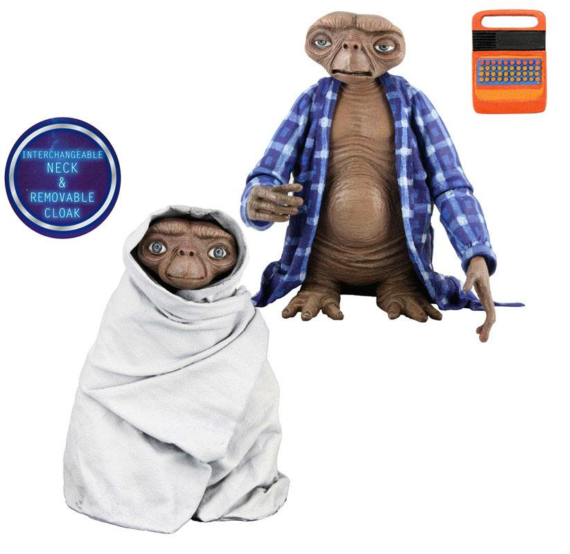 E.T. the Extra-Terrestrial Series 2 Action Figure Case 13 cm (8)