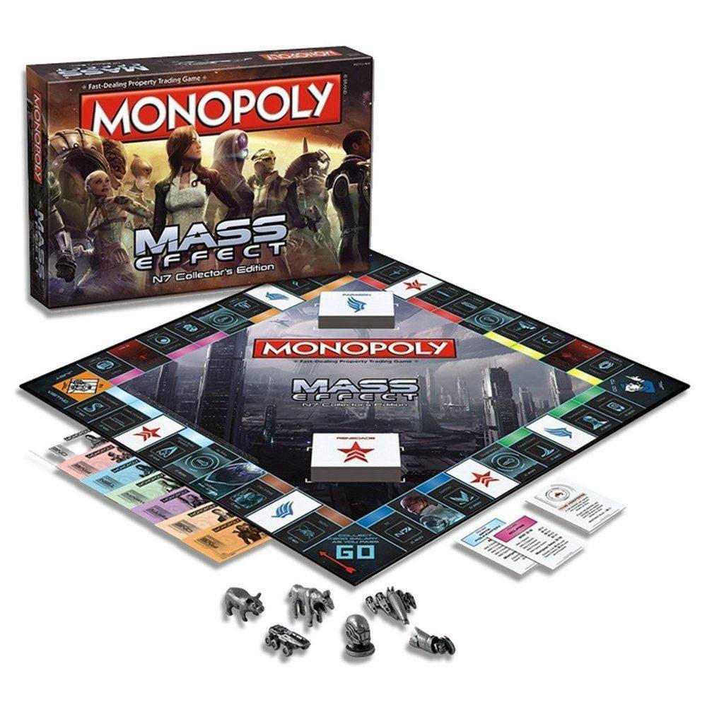 Mass Effect Board Game Monopoly *English Version*