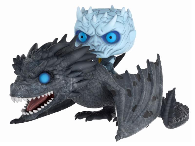 Game of Thrones POP! Rides Vinyl Figure Night King & Viserion 15 cm