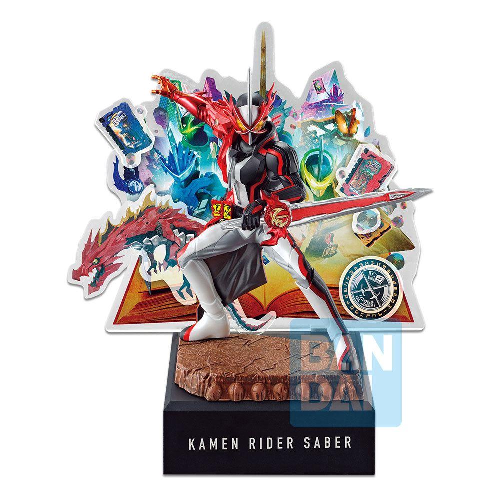 Kamen Rider Ichibansho PVC Statue Kamen Rider Saber (No.02 feat. Legend Kamen Rider) 20 cm
