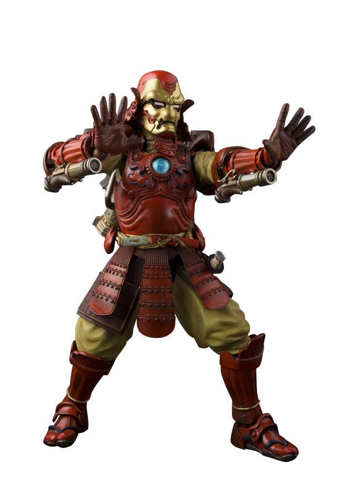 Marvel Comics Meisho Manga Realization Action Figure Samurai Iron Man Mark III 18 cm