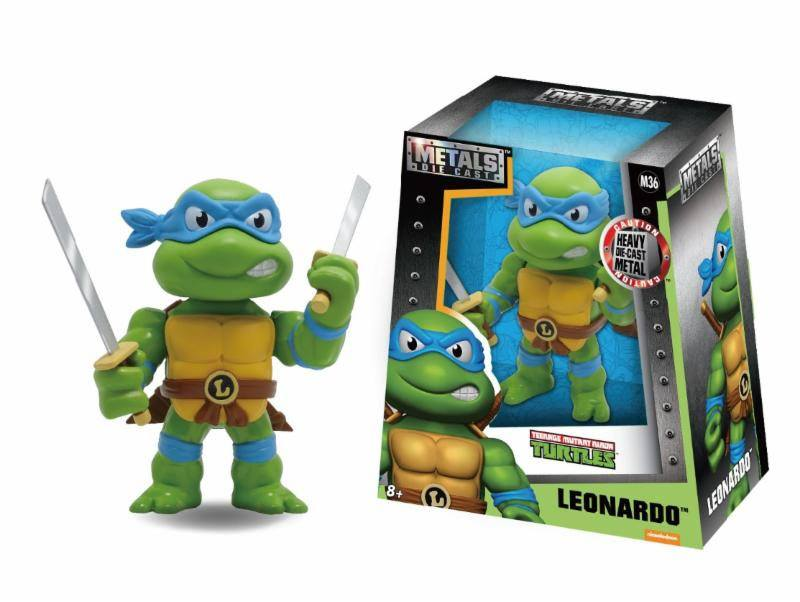 Teenage Mutant Ninja Turtles Metals Diecast Mini Figure Leonardo 10 cm