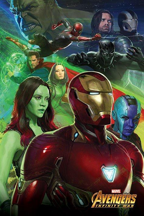 Avengers Infinity War Poster Pack Iron Man 61 x 91 cm (5)