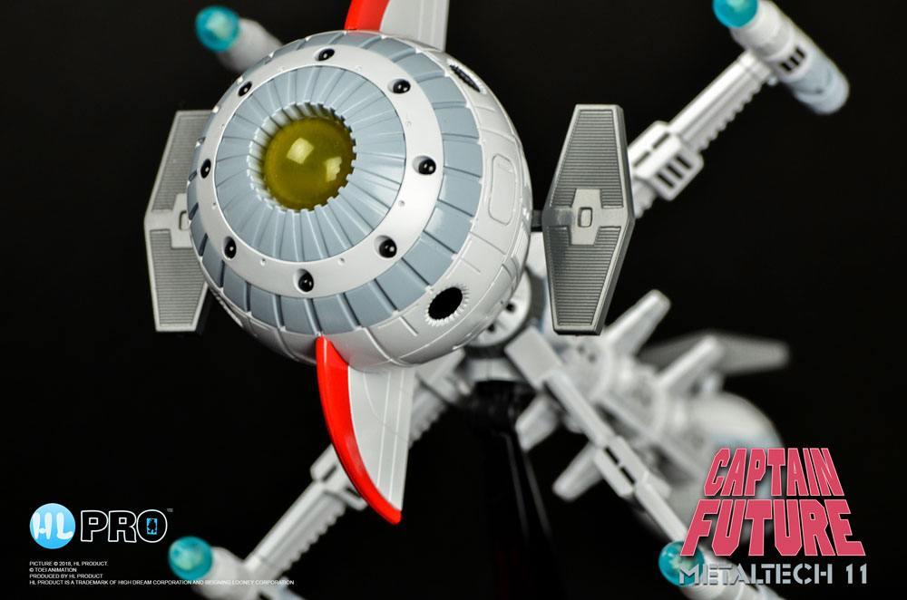 Captain Future Diecast Model Metaltech 11 Comet 24 cm