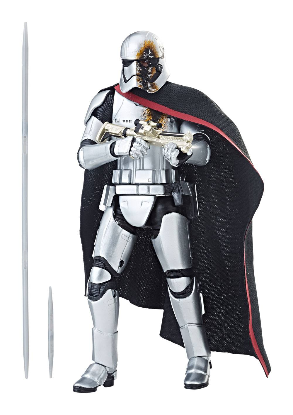 Star Wars Episode VIII Black Series Action Figure 2019 Captain Phasma (Quicksilver Baton) 15 cm --- DAMAGED PACKAGING