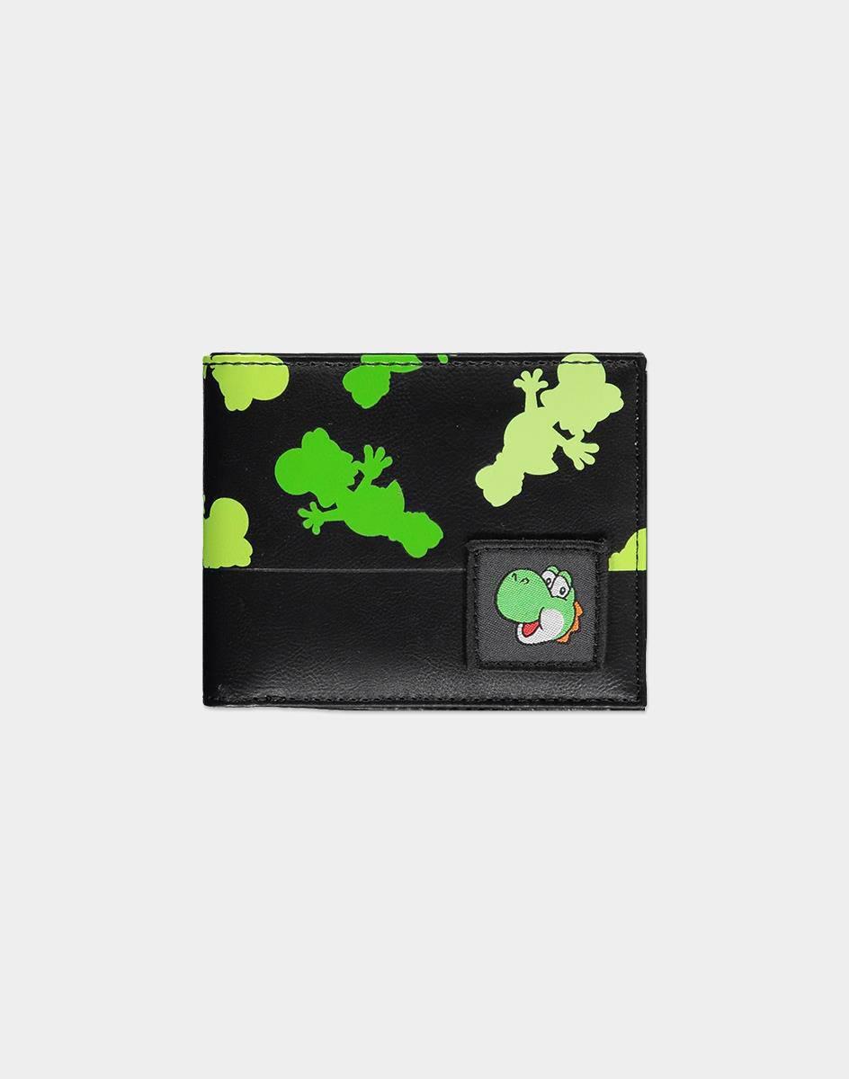 Nintendo Bifold Wallet Yoshi All Over Print